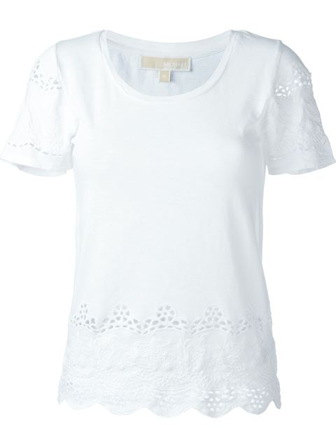 embroidered T shirt 11408037