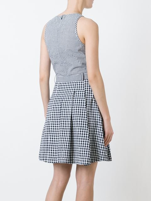 checked dress 11386113