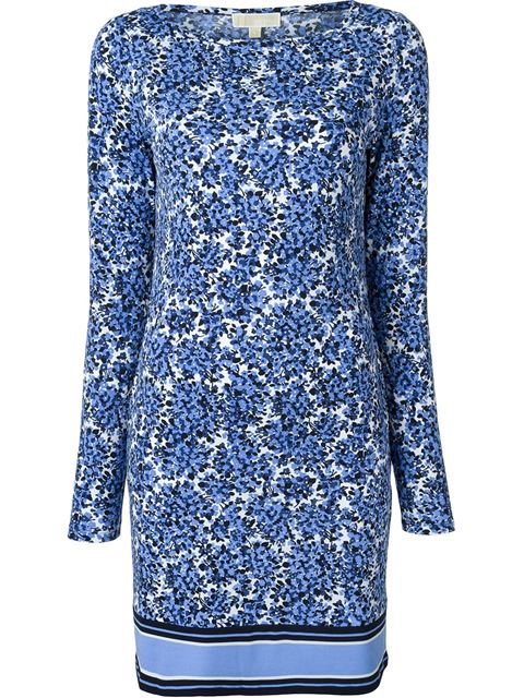 floral print shift dress 11395847