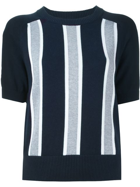 vertical stripe sweater 11250955