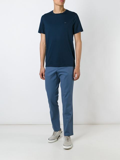 chambray trousers 11377577